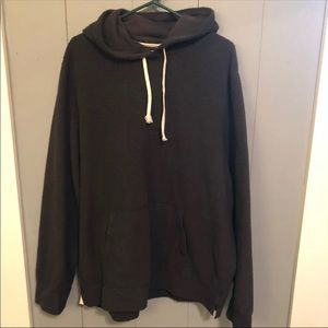 ABERCROMBIE AND FITCH SHERPA HOODIE